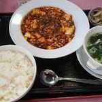 チャイナ天府 - 料理写真:本格四川麻婆豆腐