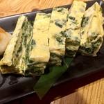 魚旬 - 能登岩海苔の出汁巻玉子