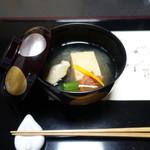 新日本料理 神也 - 海老しんじょう