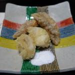 新日本料理 神也 - 白子天ぷら