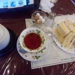 SAWAI COFFEE&TEA - サンドイッチセット(オレンジペコ)