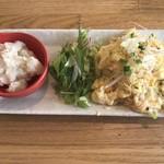 78589465 - 本日の小皿料理、ポテトサラダ
