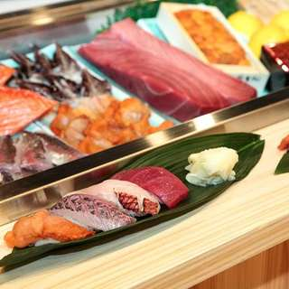 新鮮魚介新鮮なネタ(食材へのこだわり)