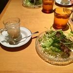 回kai - 「B set」のプチスパイススープとサラダ