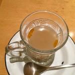 回kai - 【プチスパイススープ】クミンが程よく効いている、クセになる味わいのスープでした。