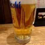 三田製麺所 - 生ビール