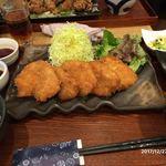 鶏水炊き・焼鳥 健美宴 - チキンカツ膳900円
