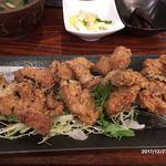 鶏水炊き・焼鳥 健美宴 - 唐揚げ膳 900円