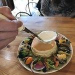 森のVoiVoi - 料理写真:チーズをかけていただきます