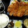 ファミリーレストラン みちのく - 料理写真:チキンカツ定食。