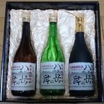 武の井酒造 - ドリンク写真:八ヶ岳の舞 ギフトセット20℃25℃35℃