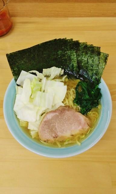 会心のラーメン 捲り家 - ラーメン750円麺硬め。海苔増し100円。