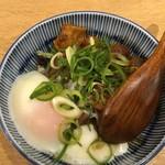 餃子と唐揚げの酒場 難波のしんちゃん - 牛すじカレー煮込み
