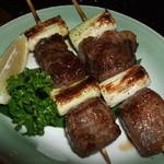 海幸の街 - 牛肉の串焼き