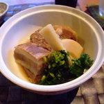 かくれ里 眉山 - 豚の角煮