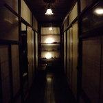 かくれ里 眉山 - 廊下