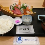 78600376 - 刺身定食(上)