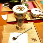 中村藤吉本店 - まるとパフェ(ほうじ茶)