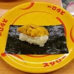 スシロー - 料理写真:濃厚うに包み 108円