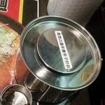 拉麺福徳 - 高菜の激辛唐辛子炒めもあるでよ♪