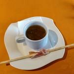 78602299 - 【ランチ】セットのオニオンスープ