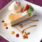 ケパサカフェ - プチ天使のチーズケーキ