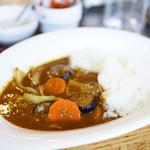 78604811 - 野菜カレー (¥650)