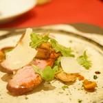 レロエ オヴェスト - フランス産鴨のロースト フォアグラソテー乗せ マディラ酒ソース