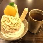 和栗や - ★★★☆ モンブランパフェ
