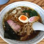 手打ちラーメンふくふく - 【ワンタンメン…750円】2017/12