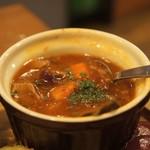 ゴホウビダイナー - スープ
