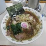 青島食堂 - チャーシュー麺