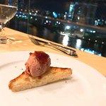 南欧料理 バンキーナ - アミューズ:鳥レバー
