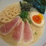 麺と心 7 - 濃厚魚介そば新味♪