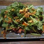 lilgo - 鶏レバー低温調理とパクチーのタパス