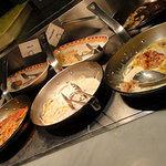 デザート王国 - スパゲッティ・オムライス・フライドポテト・白ご飯・スープなど