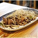 鶏焼肉東京 - レバ肝 山椒たれ焼き 470円