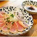 鶏焼肉東京 - 鶏タタキ お造り 絶品 490円