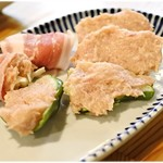 鶏焼肉東京 - つくね盛 1280円