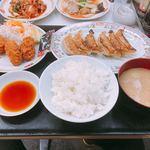 餃子の王将 - 豚汁セット