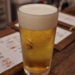 きち屋 - 生ビール