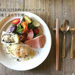 78611683 - 前菜: ブダイ・紀伊長島 近目金時のカルパッチョ・鳥羽 桃こまち生牡蠣