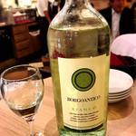 バルピノーロギンザ - BORGOANTICO BIANCO グラス180円