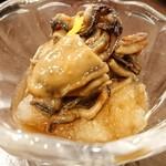 旬菜ダイニング 新 - 牡蠣の佃煮