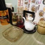 福餃子 - 灰皿あります…