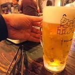 78618459 - 呑み物は大と小あり、これは大ビール