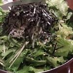 ふくの鳥 - チョレギサラダ
