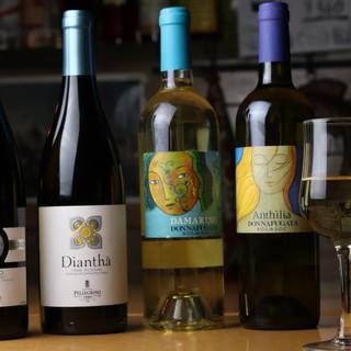 【30種】南イタリアを中心としたイタリアワインを種類豊富に◎