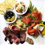セルベセリア ハポロコ - 前菜盛り合わせ