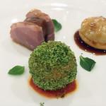 Cuisine Est - 合鴨の前菜三種